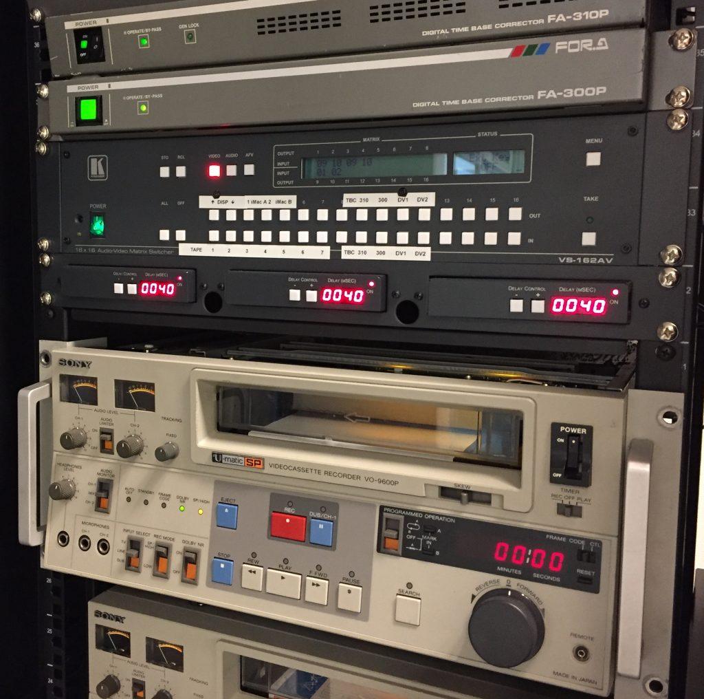 Opstelling digitaliseringsvoorziening HUA (foto: Daniël Blom)